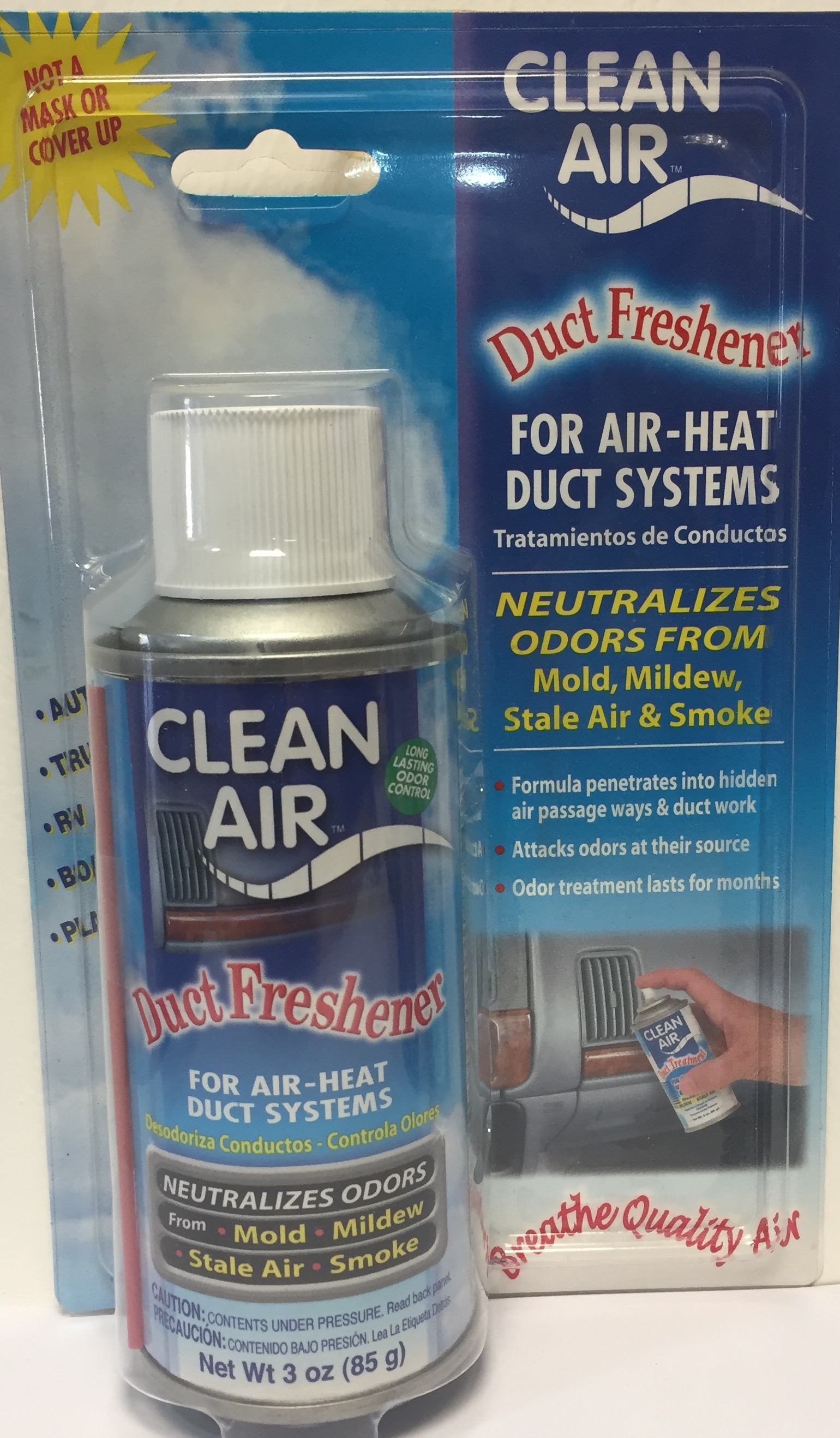 Clean Air, Neutralizador Olores