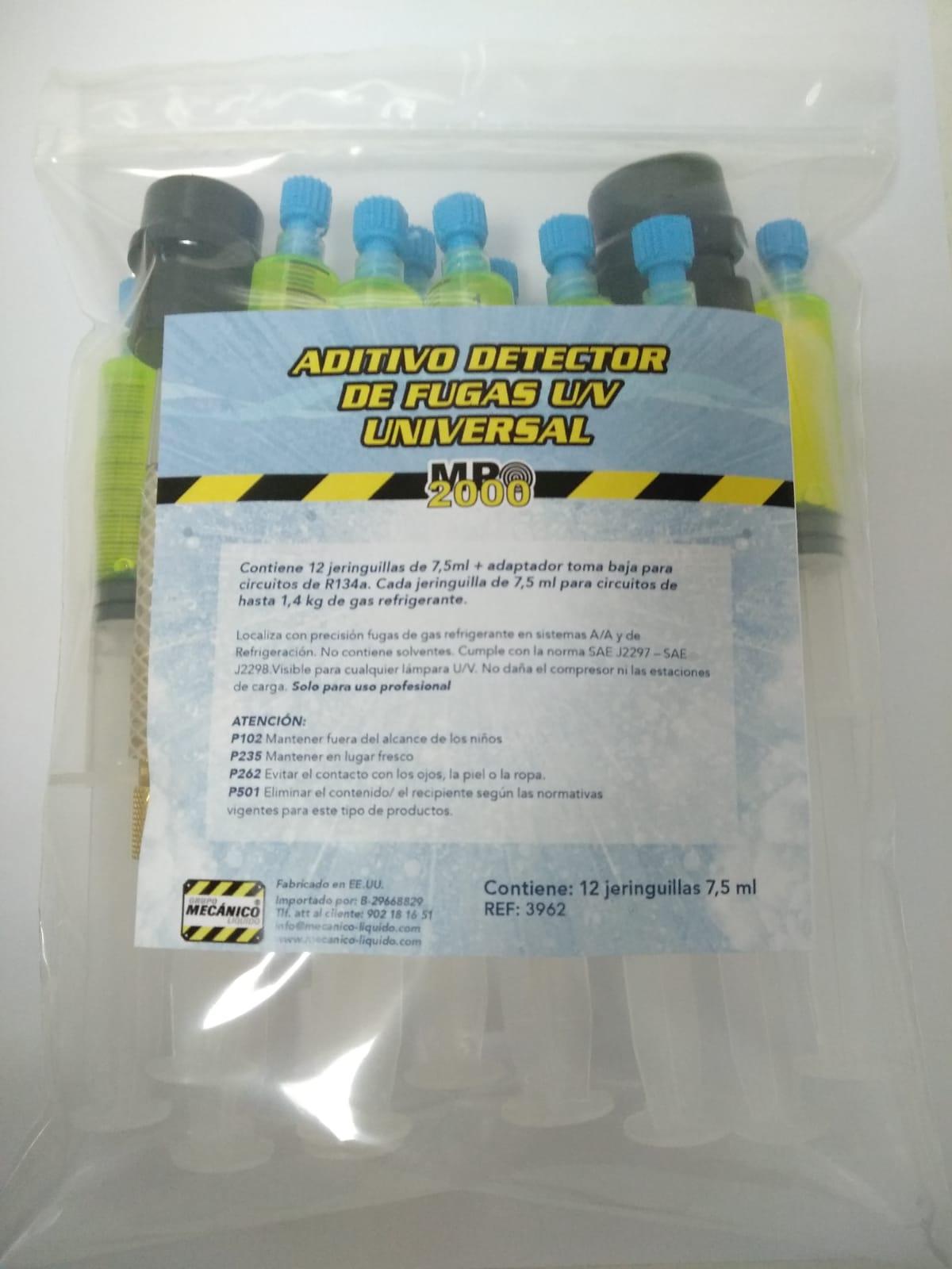Aditivo Detector de Fugas U/V Universal (R134a; 1234YF)