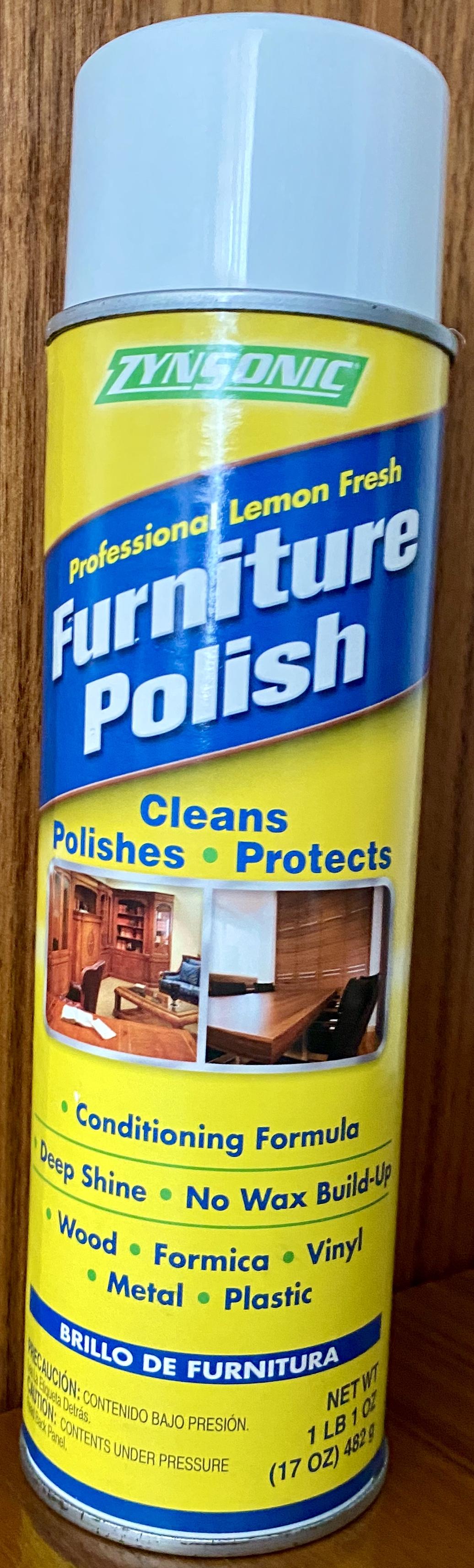 Pulimento para muebles, brillo duradero