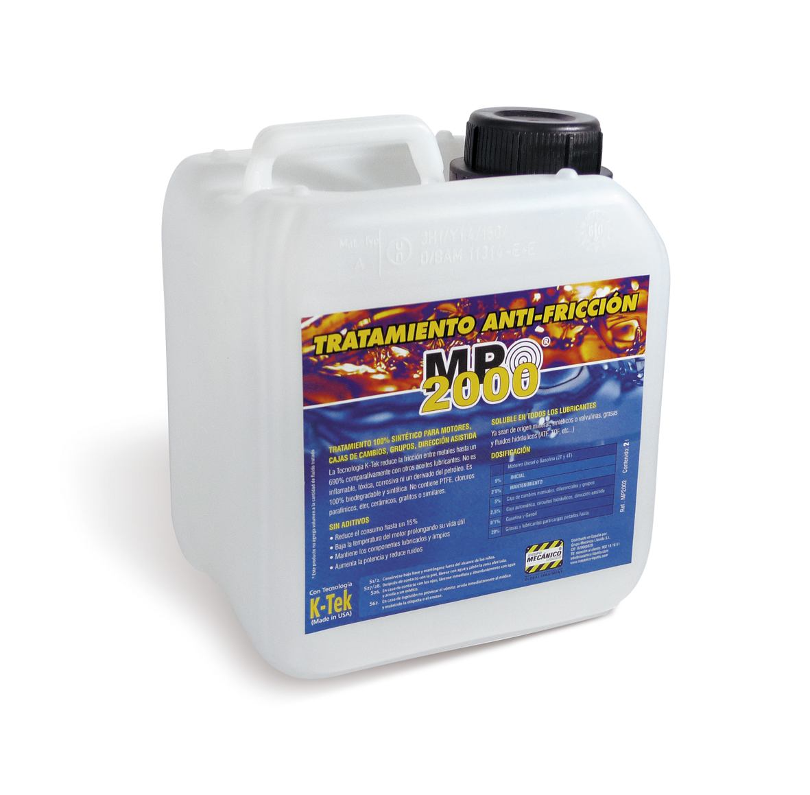 MP2000 Antifricción - 2 L