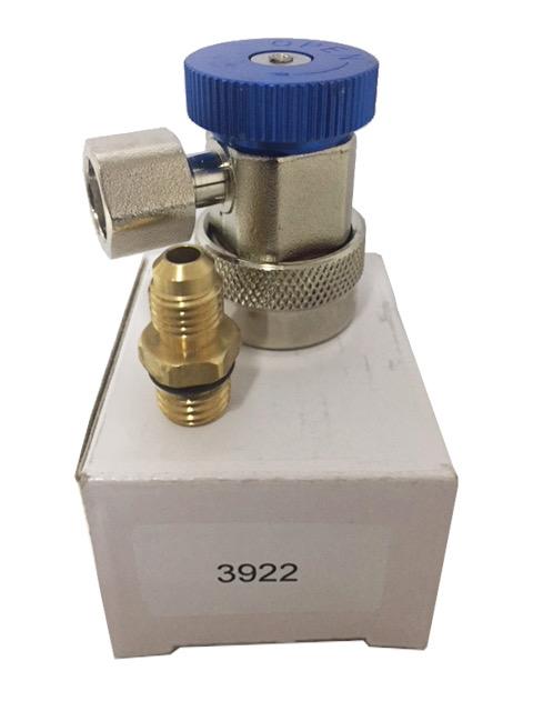 Racor baja 1234YF (azul)