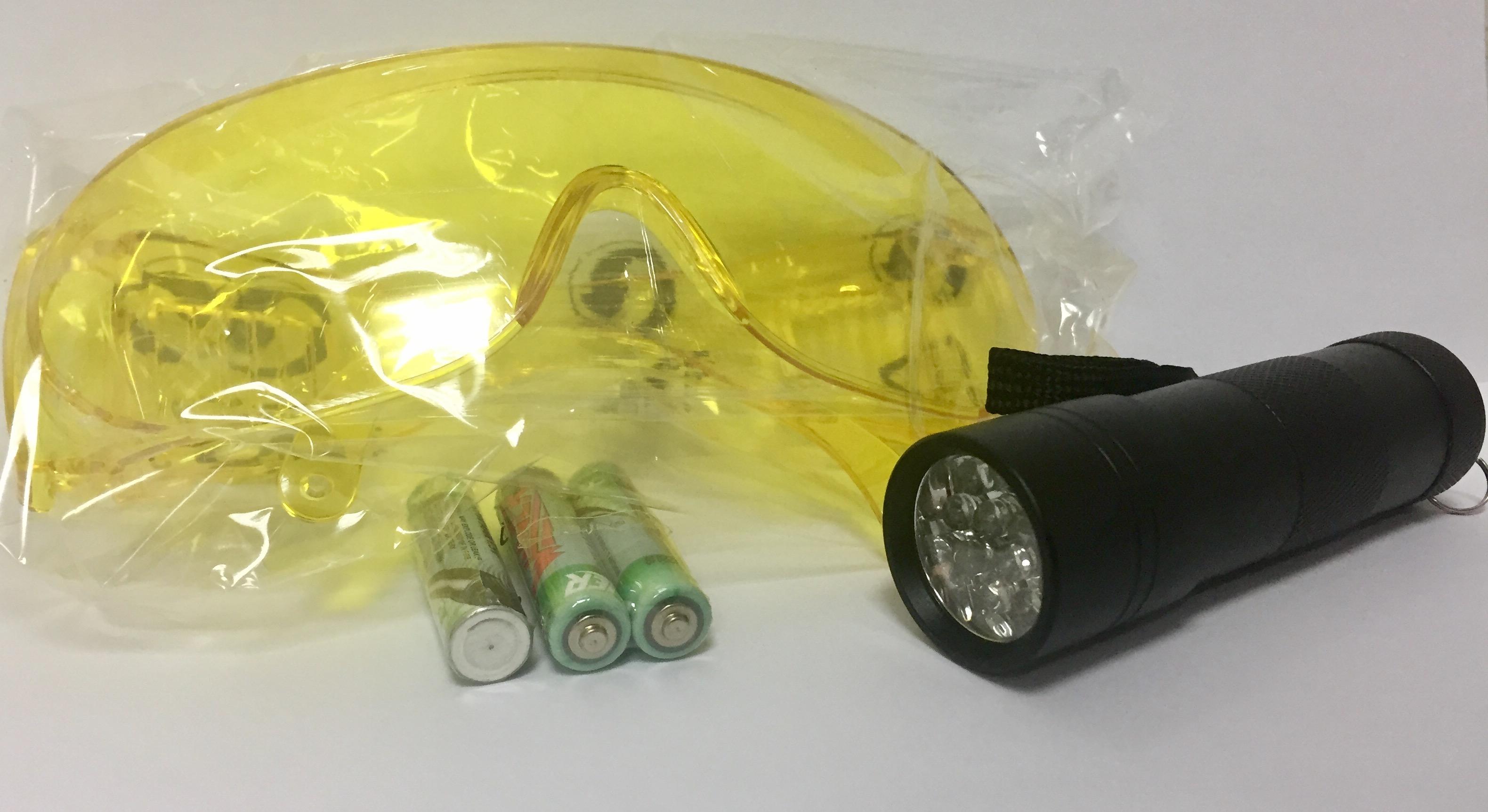 Linterna UV
